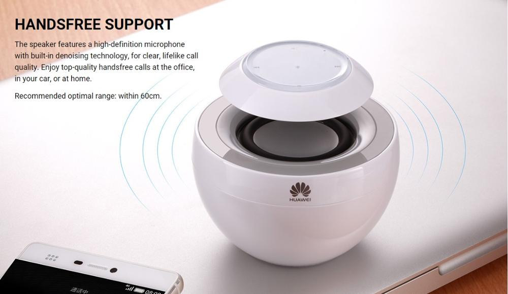 HUAWEI AM08 Little Swan Portable Wireless Bluetooth Speaker BT4.0 CSR Hands-Free Touch Control Music Loudspeakers Surround Sound