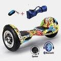 UL2272 Zwei Rad Smart Balance Elektroroller Hoverboard 10 zoll Skateboard Motorisierte Erwachsene Roller Hover Stehen Drift Bord|Selbstbalancierende Scooter|Sport und Unterhaltung -