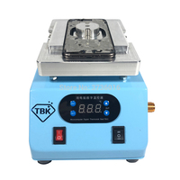 TBK 220V Cracked back battery cover glass remover machine for iphone 8/8 PLUS/X back glass heating separator machine repair Phone Repair Tool Sets    -