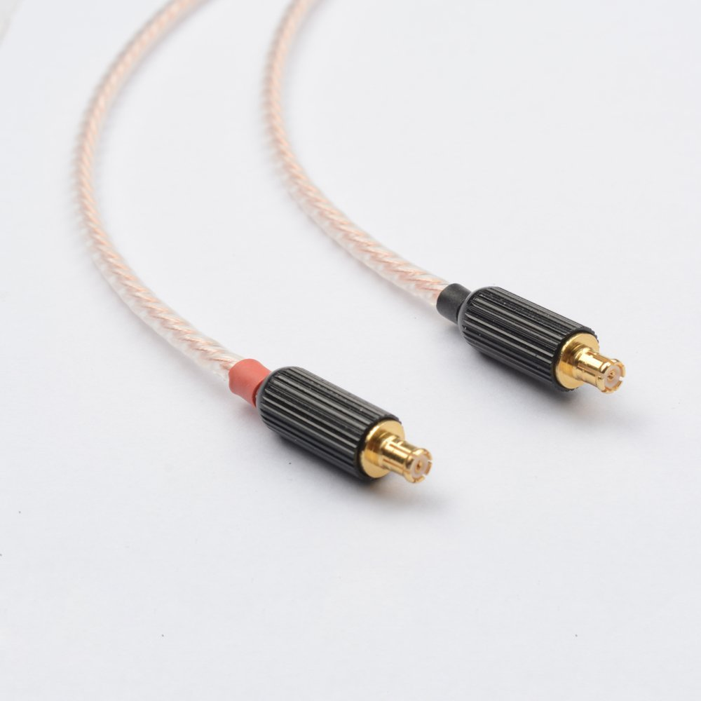OKCSC A2DC jack Cable 3 5mm Plug Upgrade cable 8 core Plated Copper for Audio Technica ATH CKR100 ATH CKR90 ATH CKS1100 in Earphone Accessories from Consumer Electronics