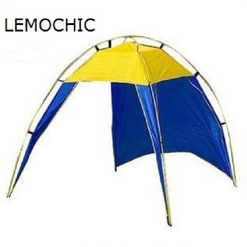 New Style Ultralarge high quality large 5 person one bedroom camping hiking beach party Safe and comfortable waterproof tent in one person
