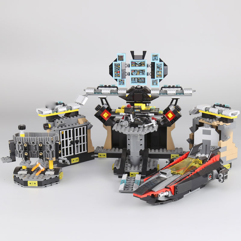 Lepin 07052 1047pcs Genuine New Movie Series Batcave Break-in Set Building Blocks Bricks Educational Toys Gifts LegoINGlys 70909 lepin 07052 1047pcs super heroes batman batcave break in diy model building blocks gifts batgirls movie toys compatible 70909