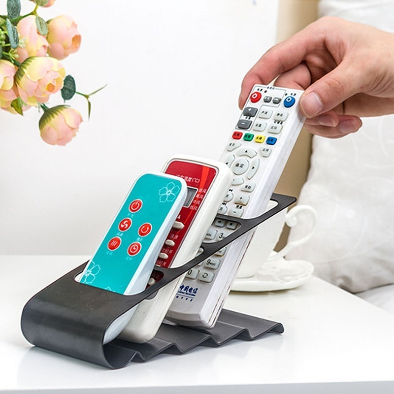 TV/DVD/VCR Air-Conditioner Remote Controller Stand Storage Holders Racks Mobile Phone Supporter Organizer
