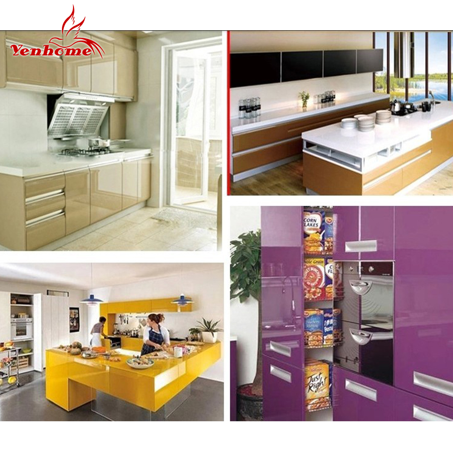 Hot DealsDecorative-Film Stickers Wallpaper Paint Roll Self-Adhesive Kitchen Furniture Pink Vinyl