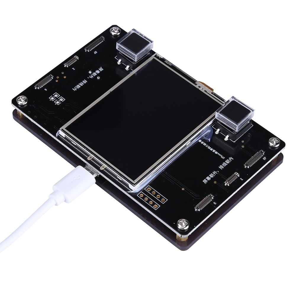 все цены на LCD Screen EEPROM Photosensitive Data Read Write for iPhone X 8 8P LCD Screen Code Files Programming Device Phone Tools Outils онлайн