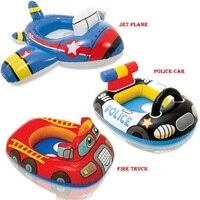 Cartoon Children Baby Swimming Swim Seat Ring Float For 0 2 Years Rattle Inside