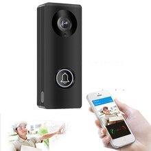 HD 1080P كاميرا واي فاي فيديو باب الهاتف الجرس جهاز اتصال داخلي لاسلكي دعم بطاقة SD لنظام أندرويد IOS الهاتف الذكي عرض عن بعد فتح