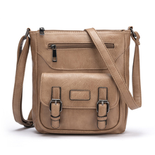 New Fashion PU Leather Handbag Women Cross Body Bag High Quality Lady Messenger Bags Bolsos Mujer Casual Female Shoulder Bag