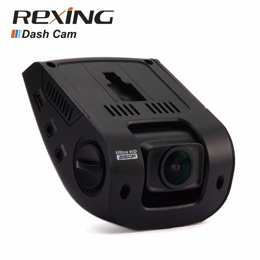 Rexing V1 3rd, haute qualité, 4 K UHD, WiFi, caméra Dvr de voiture caméra tableau de bord, Vision nocturne, vidéo grand Angle 2.7