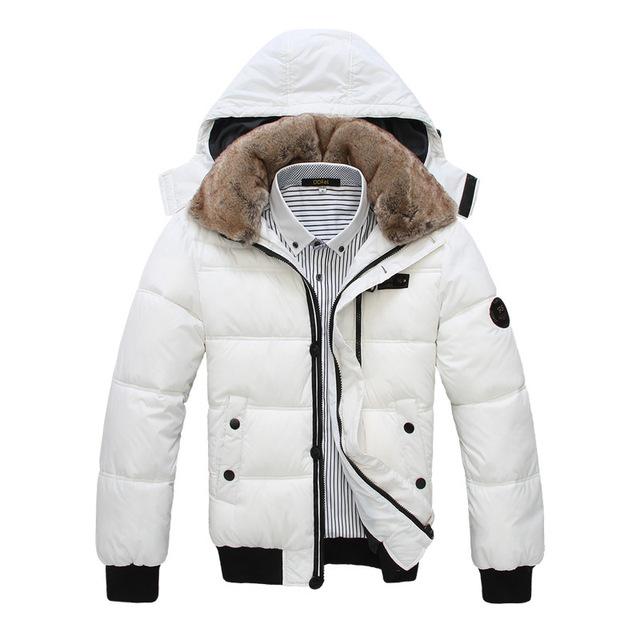 Envío gratis tamaño grande 2017 nuevo invierno masculina de algodón acolchado chaquetas de down wadded hombres de la moda abrigo parka gruesa hacia abajo lxy211
