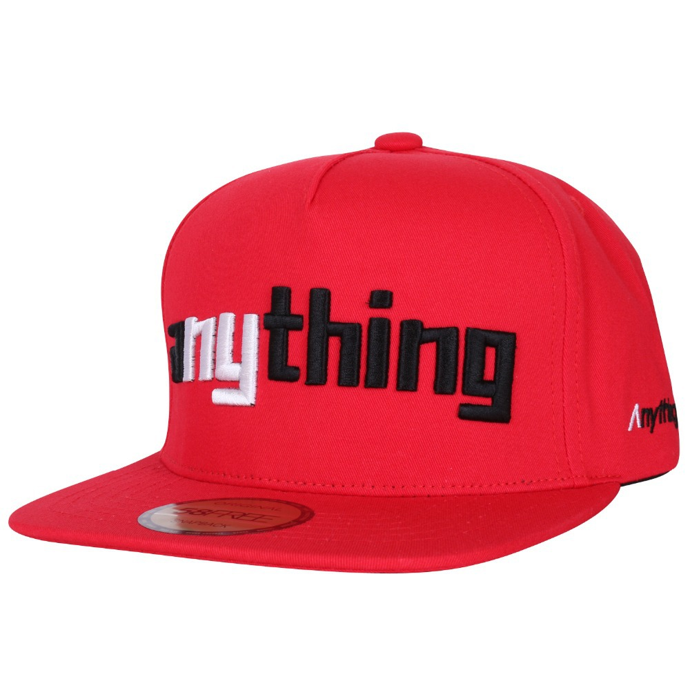 Custom Snapback Hat Free High Quality 3D Embroidery Acrylic No Minimums Free Logo Adult Men Women