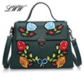 Stylish Flowers Luxury Handbags Women Bags Designer Embroidery Women Shoulder Bags Big Crossbody Bag for Lady High Quality