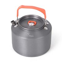 / Outdoor Water Kettles Outdoor Camping Picnic Tea Pot Coffee Pot Teapot + Mesh Bag Camping Backpacking Hiking With Tea Filter #