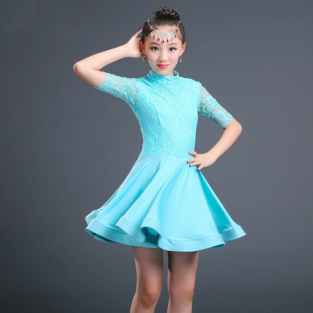 21b233c9a Aliexpress.com   Buy New Design Children Girl Kids Latin Dance ...