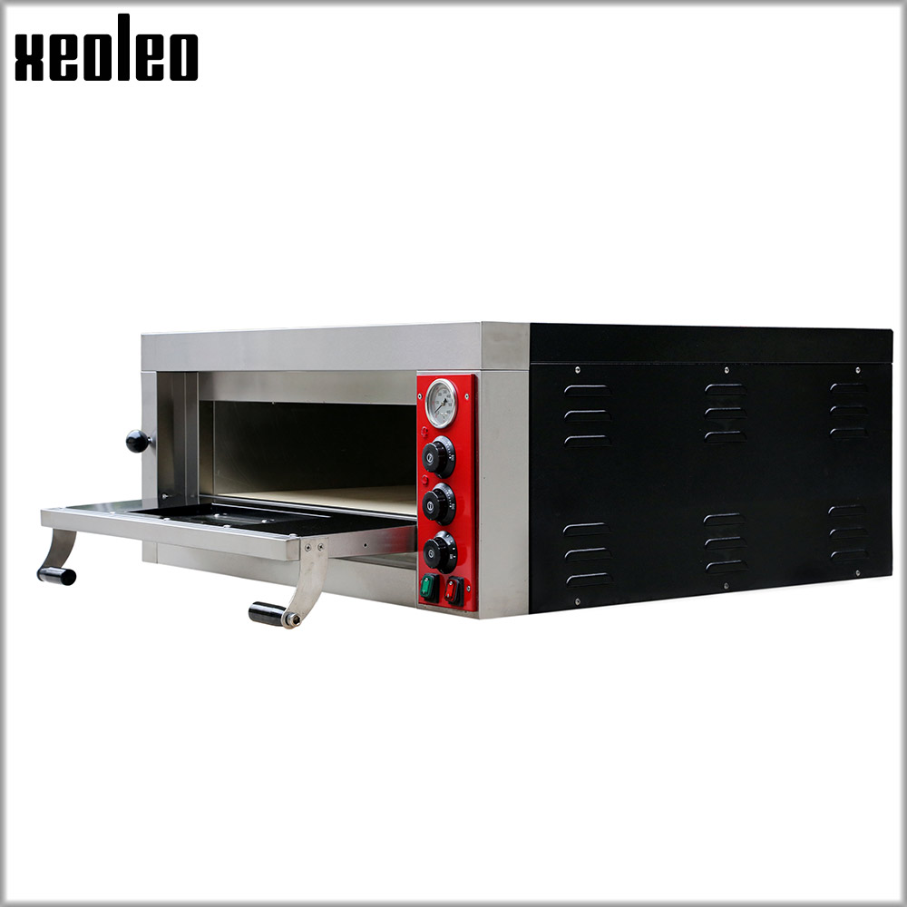 EXOLEO Pizza Baking oven Electric Bakery oven with timer Single layer commercial oven use for making Bread/Cake/Egg tart 5000W цена и фото