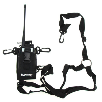 цена на Baofeng UV-5R Bag Case Shoulder Cover Nylon Pouch For BAOFENG UV5R Plus UV5RA Plus UV5RE Plus UV5RB UV5RC