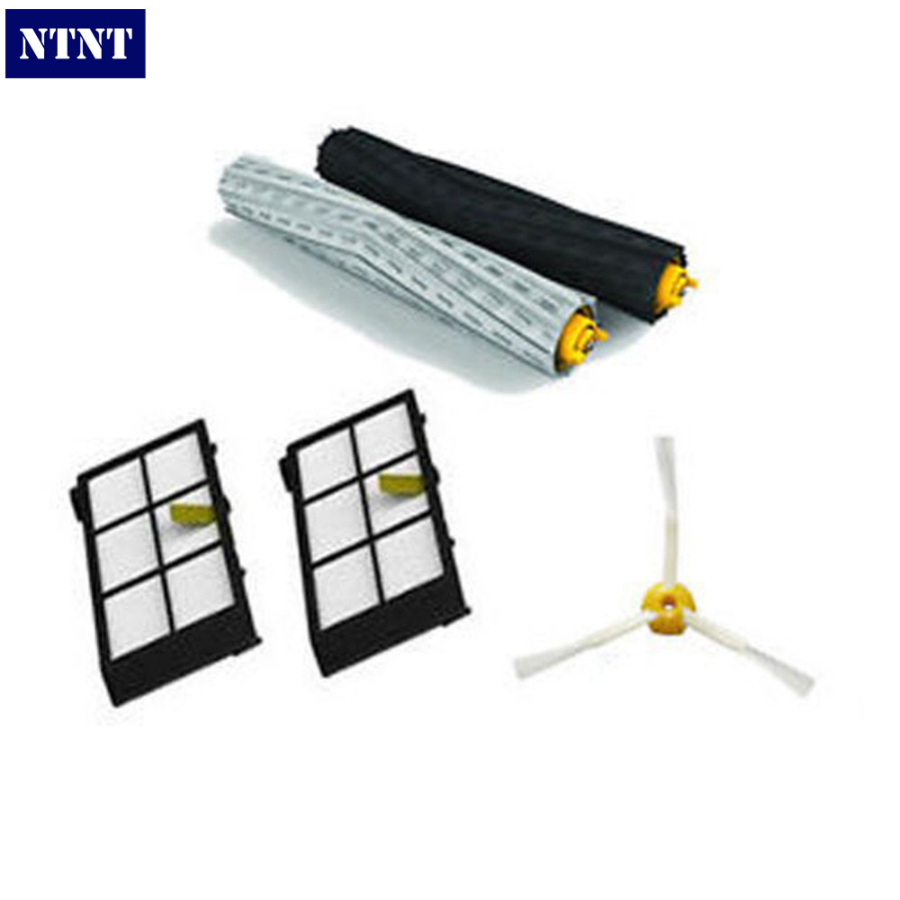 NTNT Free Post NEW Tangle-Free Brush + Filters kit for iRobot Roomba Vacuum 800 Series 880 870