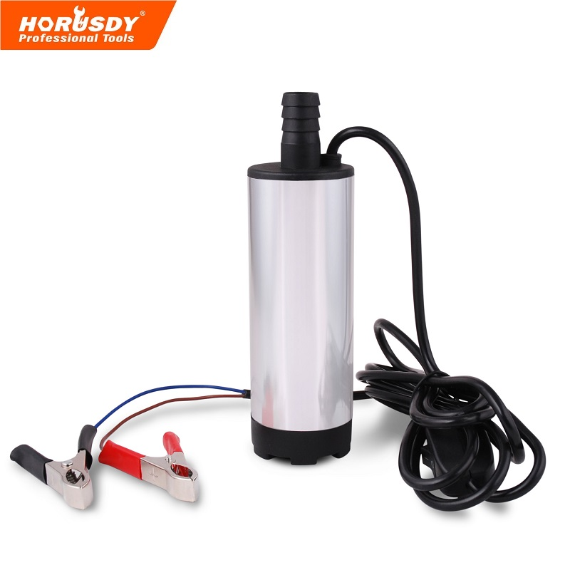 12V DC MINI Diesel Fuel Water Oil Car Camping fishing Submersible Transfer Pump Wholesale new 12v dc diesel fuel water oil car camping fishing submersible transfer pump power tool accessories color random