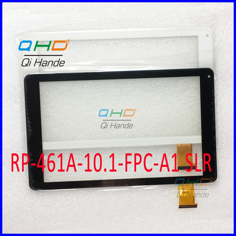 White/Black New 10.1'' inch Capacitive touch screen panel For RP-461A-10.1-FPC-A1 SLR Tablet Digitizer Sensor Free Shipping for sq pg1033 fpc a1 dj 10 1 inch new touch screen panel digitizer sensor repair replacement parts free shipping