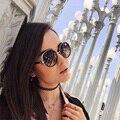 Feidu 2016 circular de alta qualidade new mulheres moda retro dos óculos de sol de design da marca feminina dirigir óculos de sol gafas oculos de sol