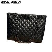 Fashion Diamond Lattice Pattern PU Leather Quality Satchels Bag Crossbody Tote Women S Shoulder Bags Lady