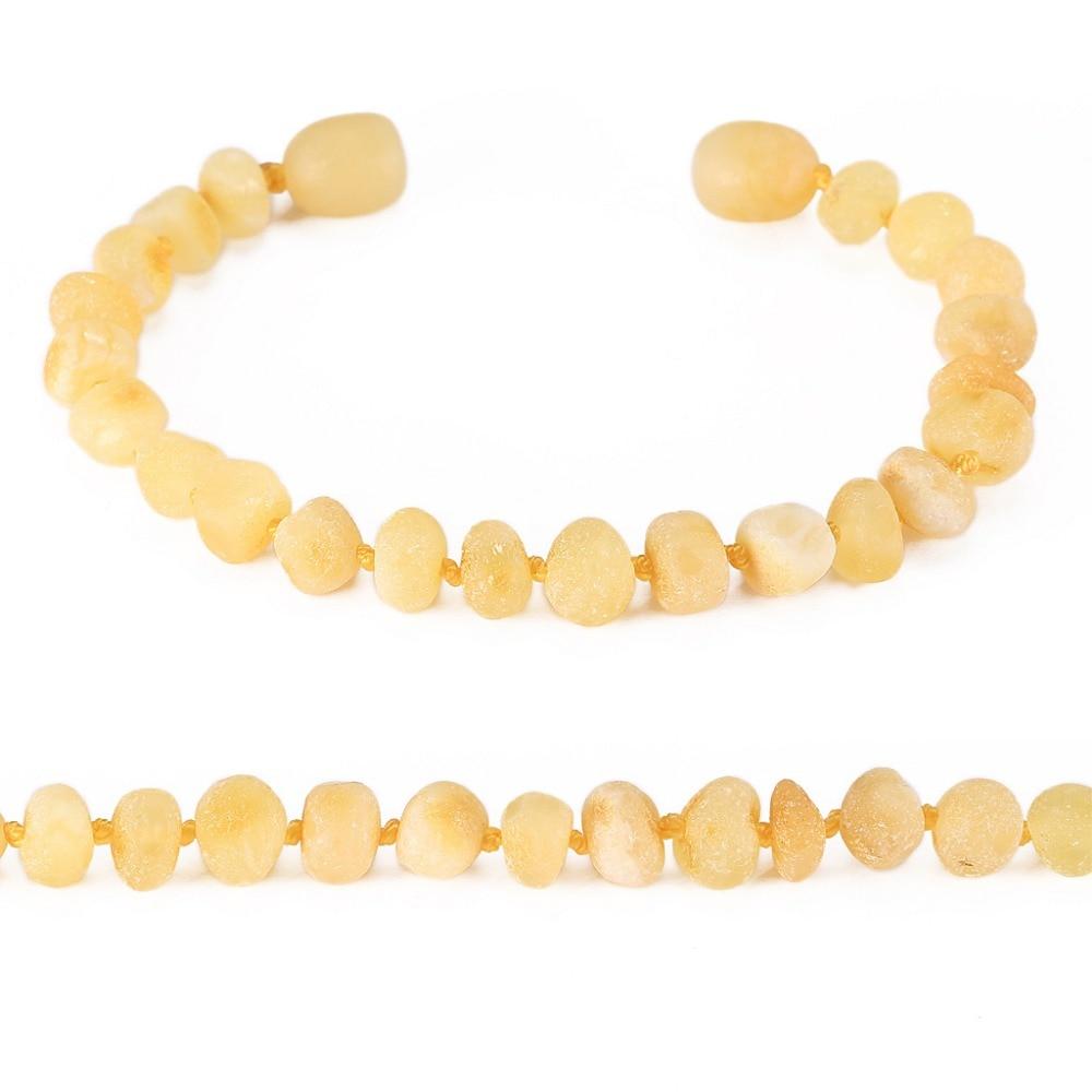 Baltic Amber Teething narukvica za bebe - jednostavan paket - 10 boja - Fine nakit - Foto 5
