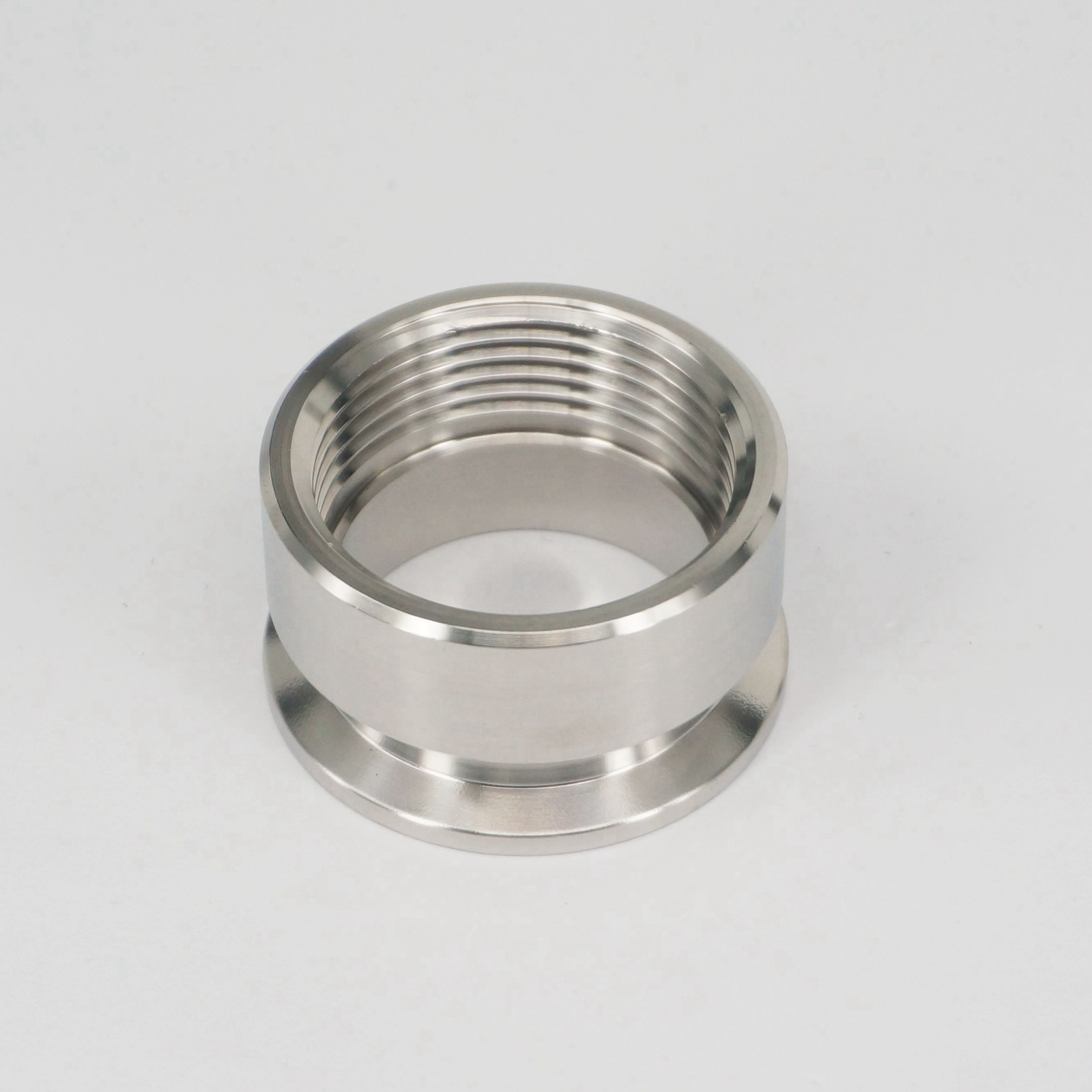 1-1/4 BSP Female x 1.5 Tri Clamp 50.5mm Ferrule O/D 304 Stainless Steel Sanitary Pipe Fitting Connector For Homebrew 1 2 bsp male x 1 5 tri clamp 304 stainless steel pipe fitting connector for homebrew with hex nut