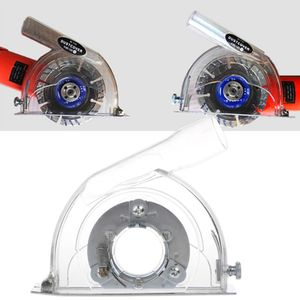 """Image 2 - Clear Cutting Dust Shroud Grinding Cover For Angle Grinder & 3""""/4""""/5"""" Saw Blades"""