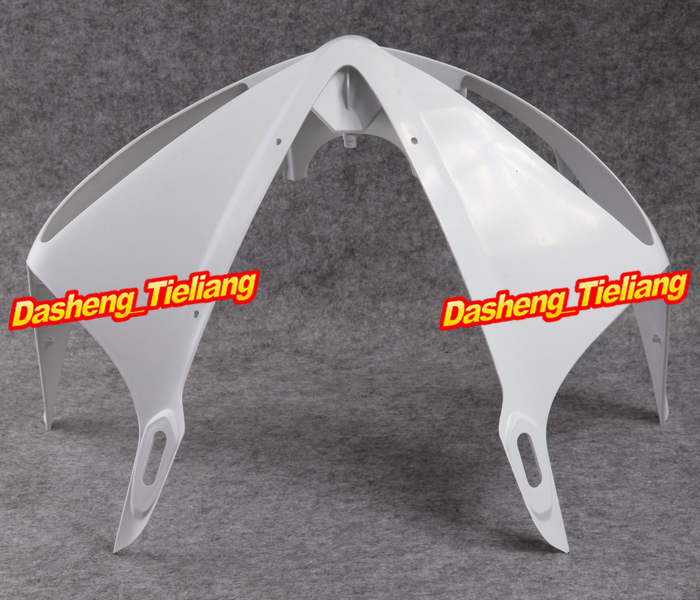 Unpainted ABS Upper Front Fairing Cowl Nose for Yamaha 2003 2004 2005 YZF R6  Injection Mold unpainted abs plastic front upper cowl nose fairing bodywork for yamaha yzf r6 r600 1998 2002 1999 2000 2001