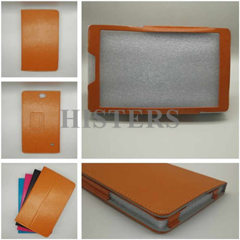 HISTERS Magnetic Cover for Prestigio Muze 3718 3G PMT3718_3G_D 8 Inch Tablet PU Leather Stand Case with Camera Hole