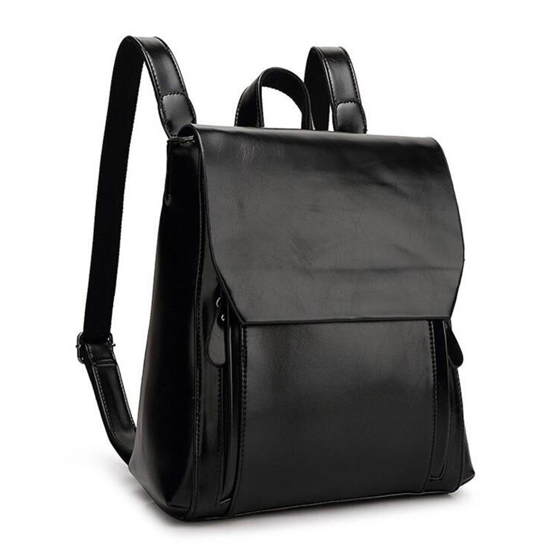 SFG HOUSE Fashion Women PU Leather Backpack Casual Girls Rucksack Bag 2017 Teenagers School Bags Ladies