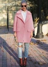 Wool Pink Coat
