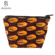 African Coin bag cotton Wax Print Korean lining for Handmade Sewing small Gift ankara print women High Quality
