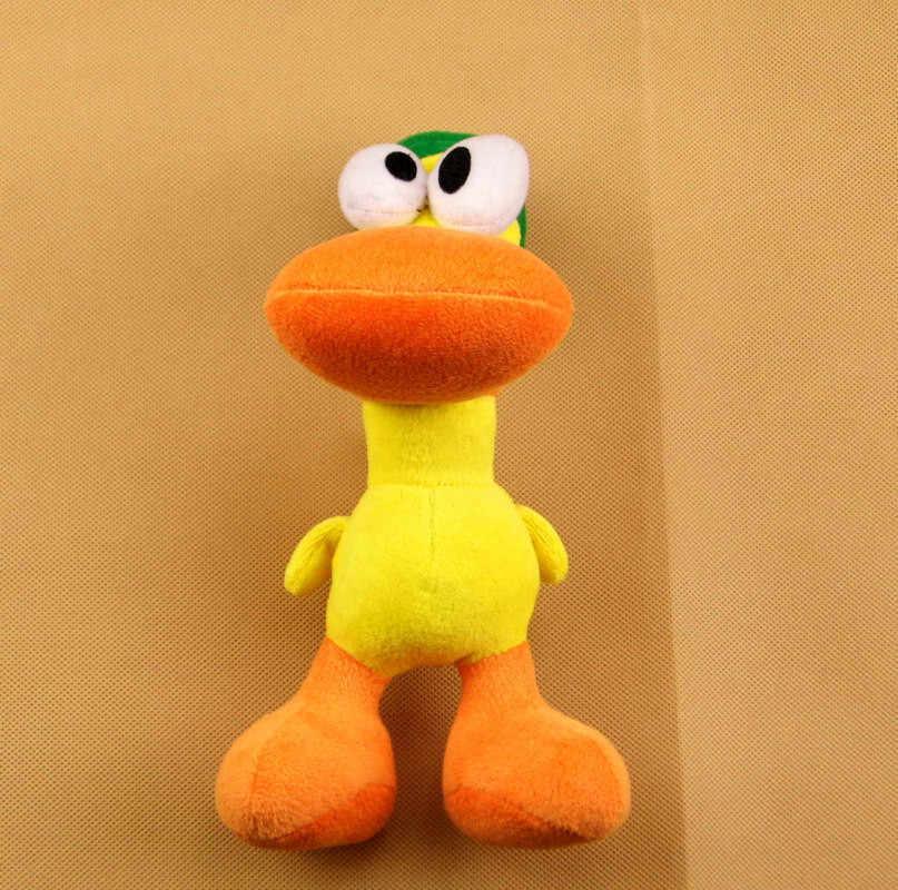 22 cm bonito Pato Pato Pocoyo Pelúcia macia boneca Brinquedos de pelúcia para as crianças presentes brithday