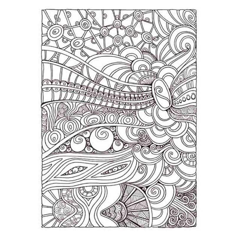 Entangled Coloring Book Antistress For Adult Relieve Stress Art Painting Drawing Graffiti Gift Colouring Books Hot In From Office