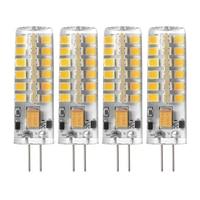 5 واط g4 led المصابيح ، الهالوجين المكافئة ، عكس الضوء ، الدافئة الأبيض ، 3000 كيلو ، 360 درجة زاوية شعاع ، سيليكون الذرة لمبة