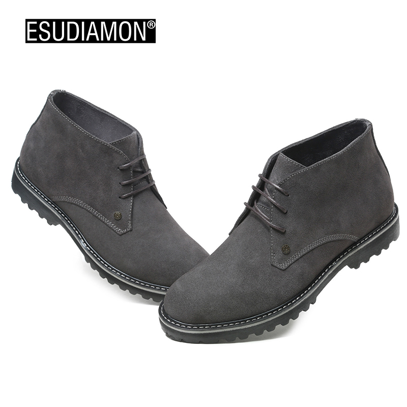 ESUDIAMON Casual Shoes Men British Flats Black Men Genuine Leather Business  Lace-Up Soft Dress Men Oxfords Shoes 45 Big Size high quality men s shoes genuine leather british style mens loafers lace up business men oxfords shoes wedding dress flats shoes