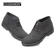 ESUDIAMON Повседневная Обувь Мужчины Британские Квартиры Черный Неподдельной Кожи Людей Бизнес Шнуровке Мягкие Платья Мужчины Оксфорды Обувь 45 большой Размер