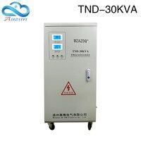 TND 30KVA high precision automatic single phase ac voltage regulator 30000VA Regulated power supply