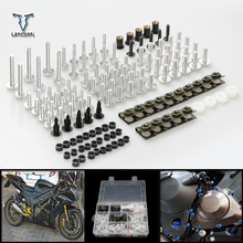 CNC evrensel motosiklet aksesuarları Fairing/cam cıvata vidalar set Yamaha ybr 125 yzf r15 XT660 xt660x xt660r xt660z