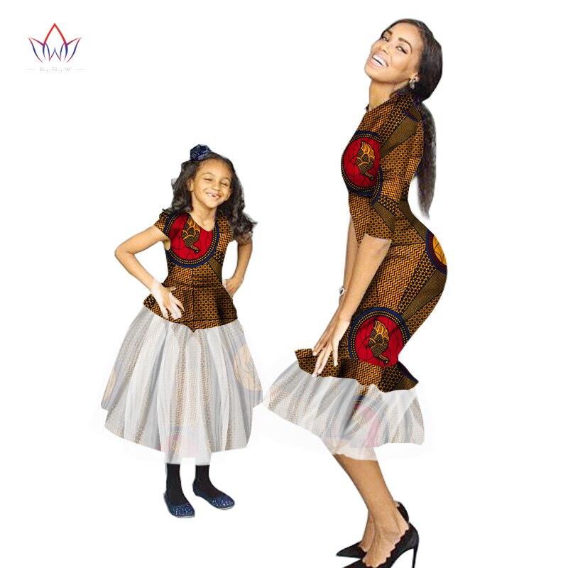 Sommar New Fashion Familj Matchande Kläder Märke Mamma och Baby - Nationella kläder - Foto 3