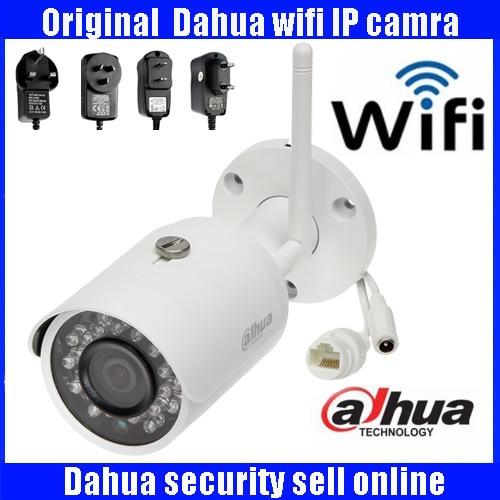 Original Dahua 3MP DH-IPC-HFW2325S-W 3MP wifi wireless IP camera P2P dahua Easy4ip cloud support IP camera with power adapter видеокамера ip dahua dh ipc hdbw2220rp zs 2 7 12мм 1 2 8 1984x1225