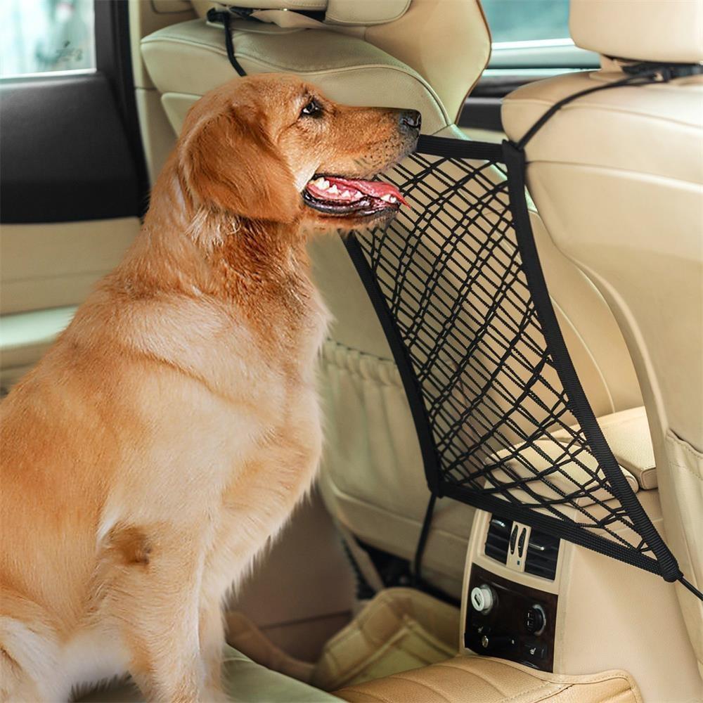 Car Dog Barrier Seat Net Organizer Universal Stretchy Auto Backseat Storage New JUNE19