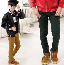 2016 fashion children big boys pants cotton boys trousers autumn cotton casual pants cotton child kids clothing