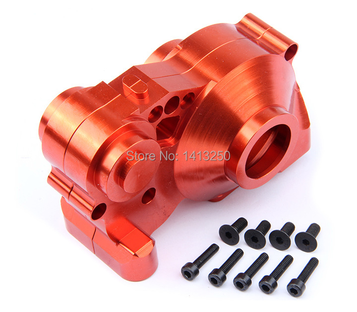 CNC metal gear box set for 1/5 hpi baja 5b 5t 5sc parts alloy front hub carrier for 1 5 hpi baja 5b 5t 5sc