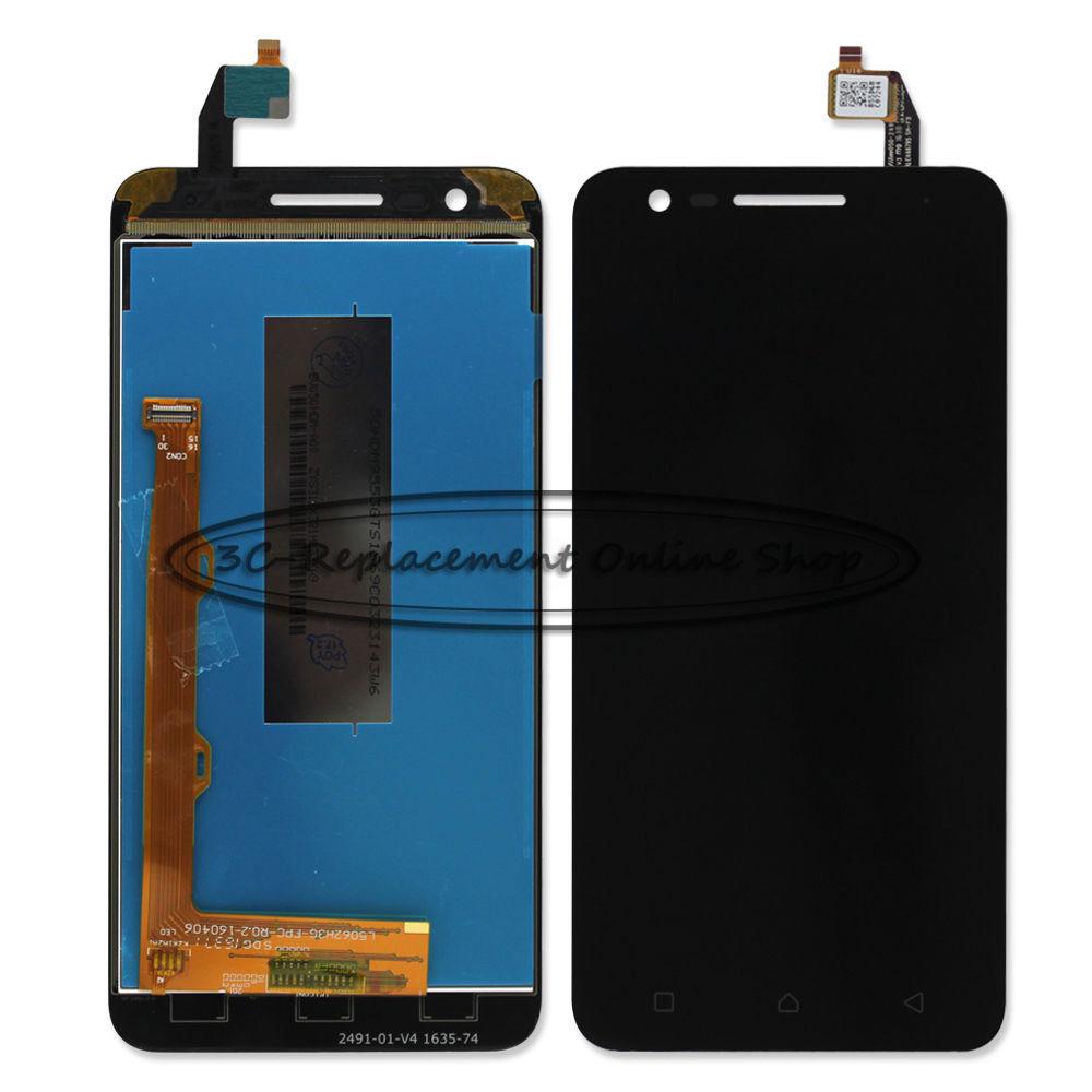 imágenes para Negro/Blanco LCD + TP Para Lenovo C2 K10a40/C2 Pantalla LCD + Digitizador de la Pantalla Táctil de Lenovo Vibe Reemplazo Libre del envío