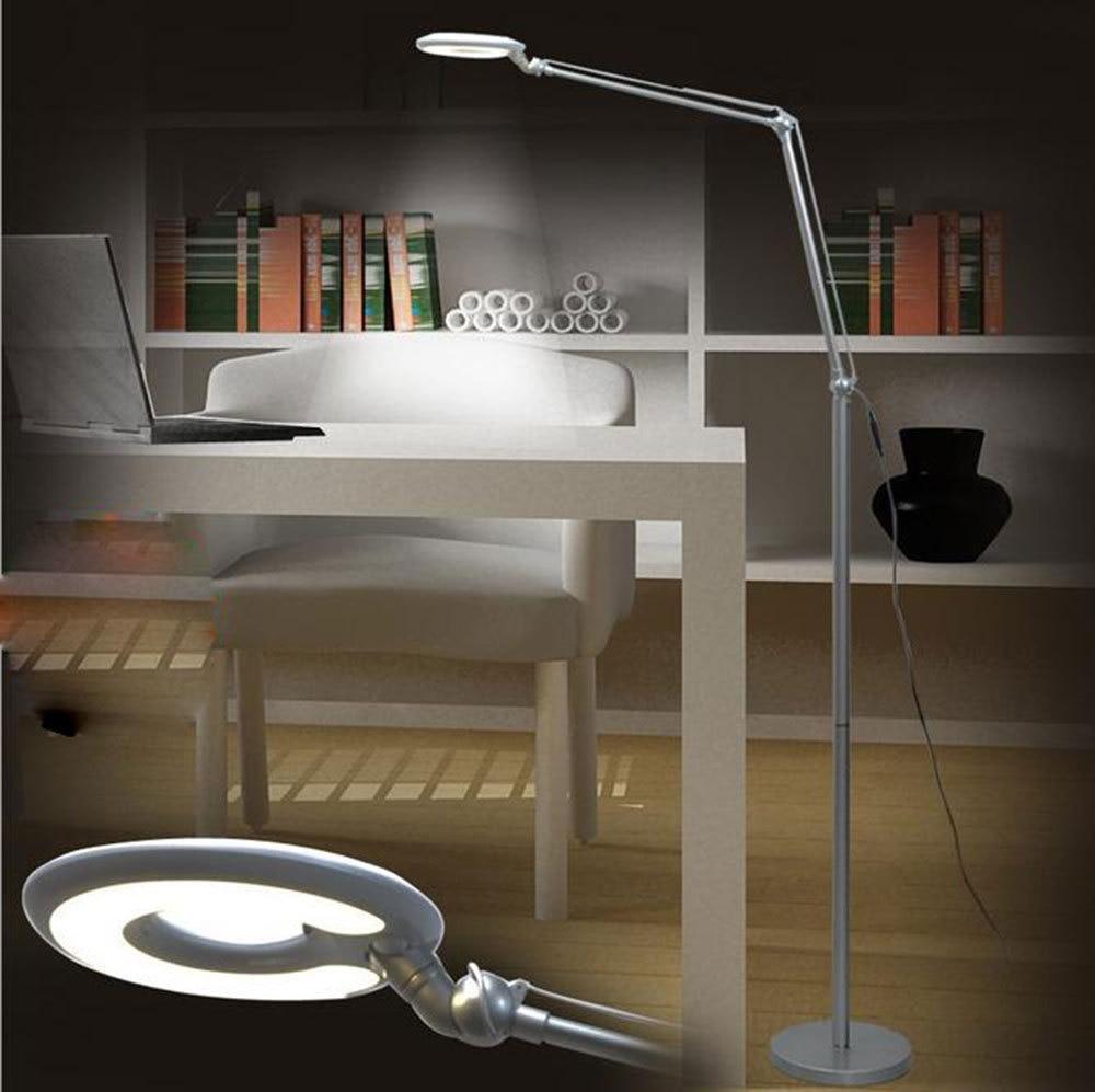 Lampadari Da Camera Matrimoniale Ikea us $109.0 |led soggiorno camera da letto lampade moda classica lampada  pesca led protezione occhi pieghevole lampade da terra  illuminazione|lighting