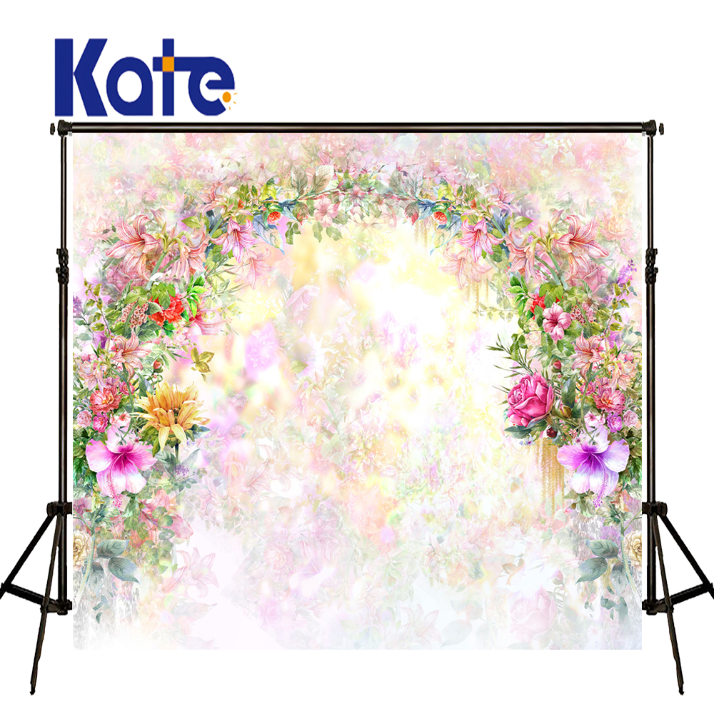 KATE 10ft Photography Backdrops Flower Backdrop Wedding Backdrop Flowers Photocall Bodas Fondo Flores Wedding Arch Backdrops kate 10x10ft flag day photography backdrops with stars wood american flag photography background children photocall bodas fondo