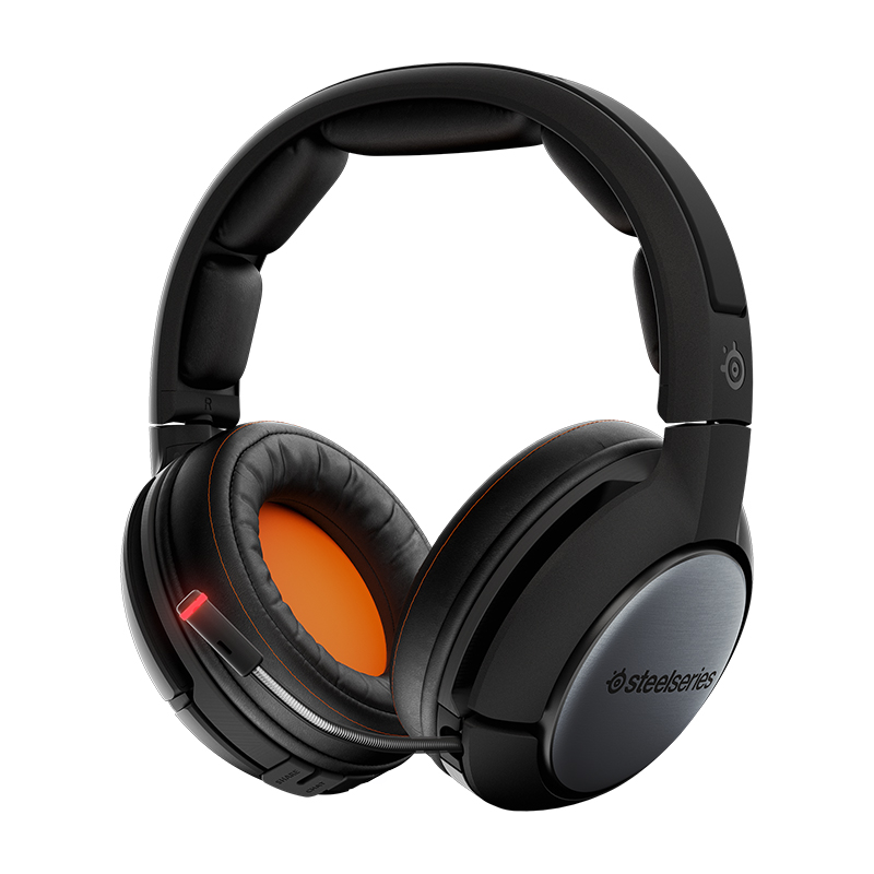 все цены на SteelSeries Siberia 840 Game Headphone Lag-Free Wireless Gaming Headset with Bluetooth, OLED Transmitter and Dolby 7.1 Surround