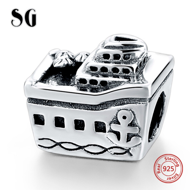 d92d5b049 2018 New Arrival Cruise Ship Sterling silver Charm Beads Fit Authentic Pandora  Charms Bracelet Silver 925 Original Women Jewelry
